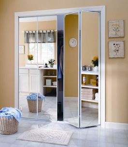 Mirror Bifold Doors